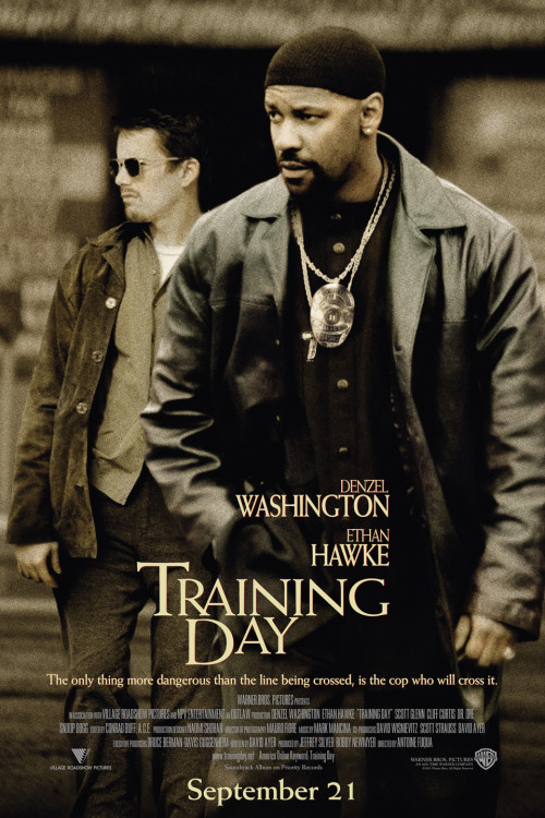 Training Day (2001) – English {Blu-Ray} 720p 1GB / 480p 450MB