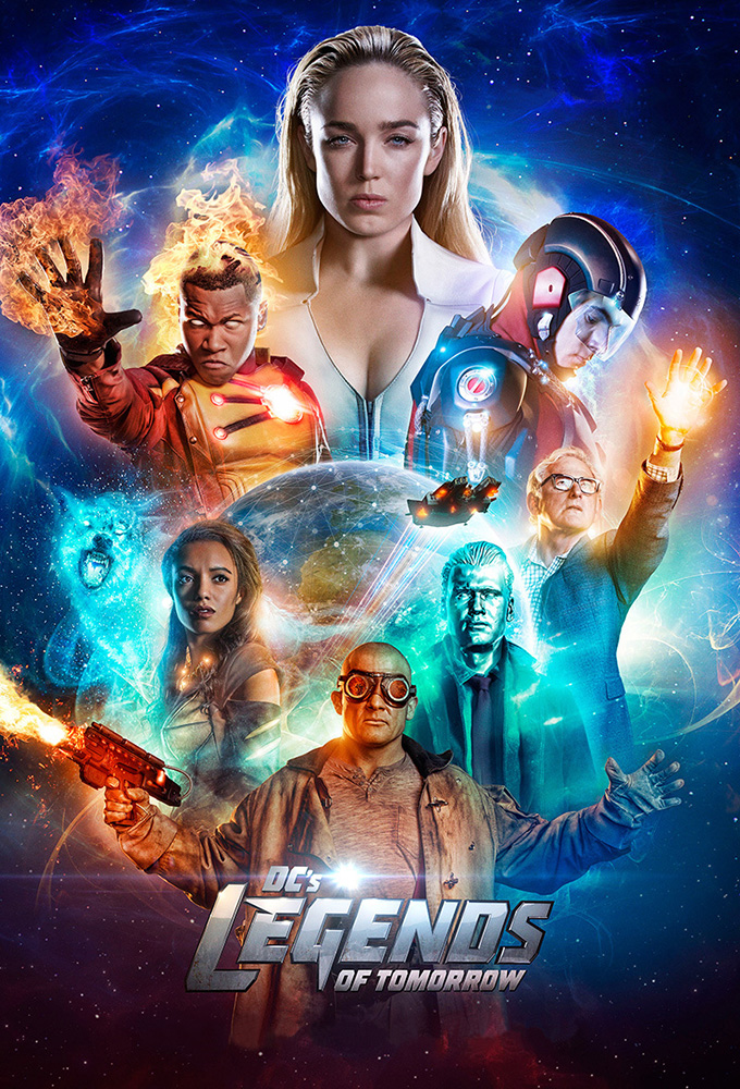 Legends of Tomorrow – 3ª Temporada Completa WEB-DL 720p e 1080p — Dual Áudio