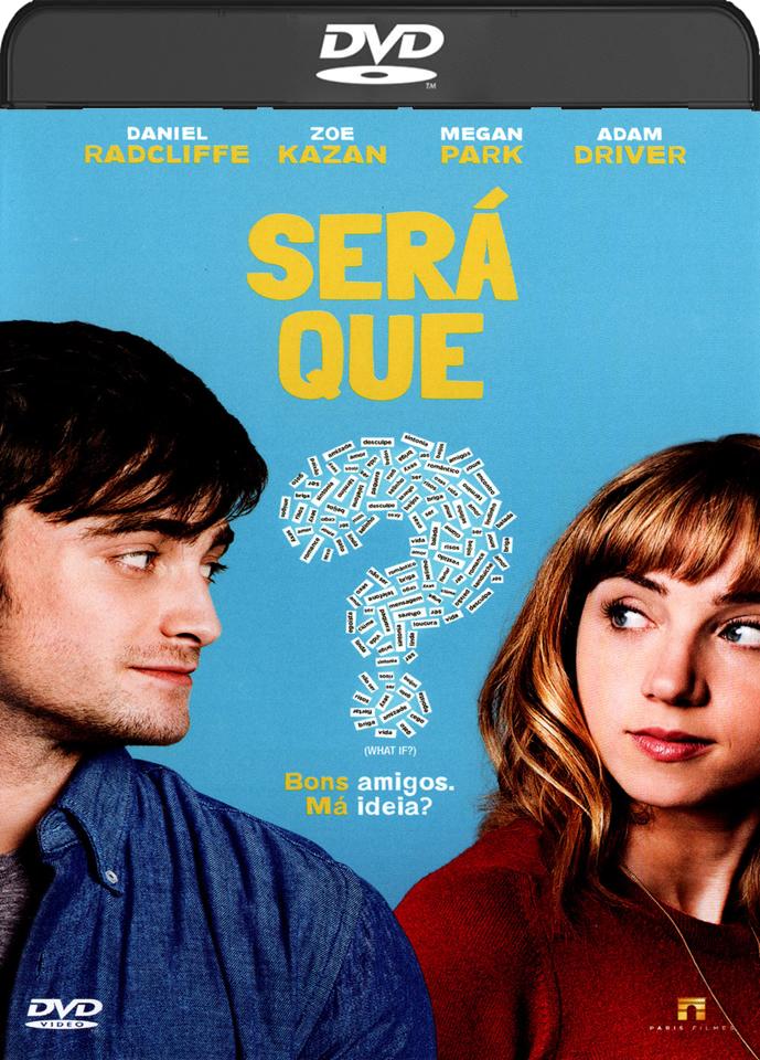 Será Que? (2015) DVD-R Oficial