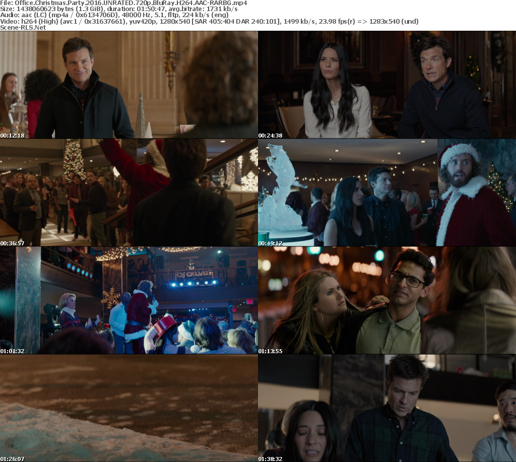 Office Christmas Party 2016 UNRATED 720p BluRay H264 AAC-RARBG ...
